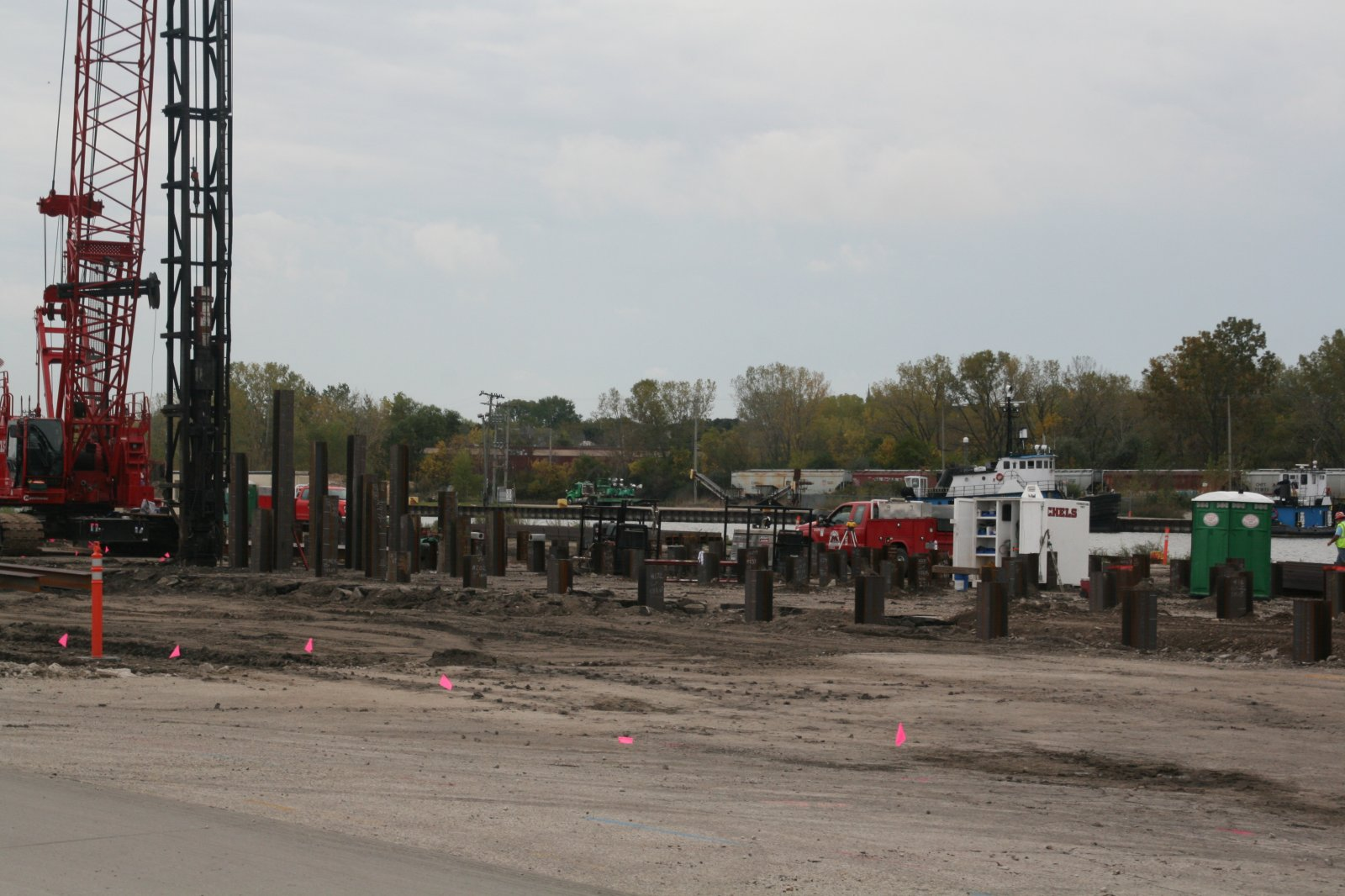 DeLong AMEF Site Work
