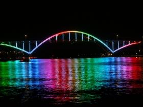 Hoan Bridge Lights