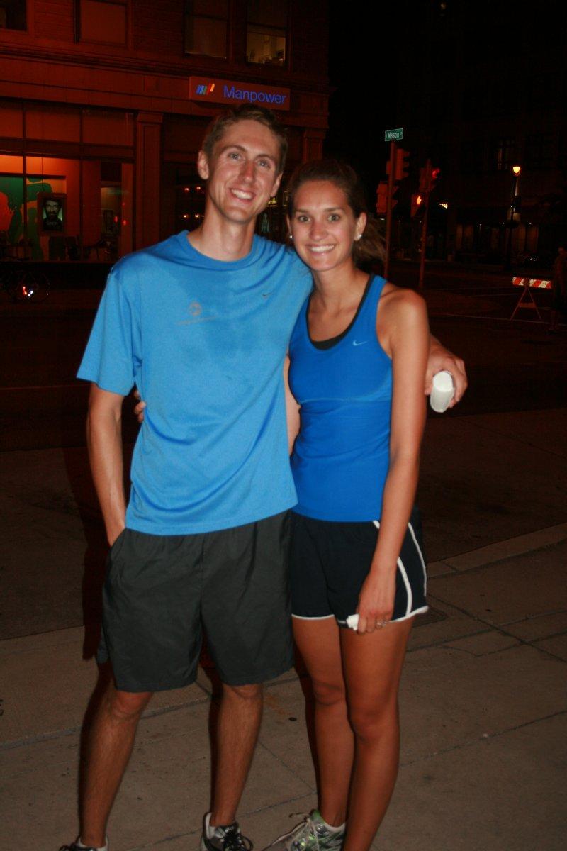 Brian and Linnea