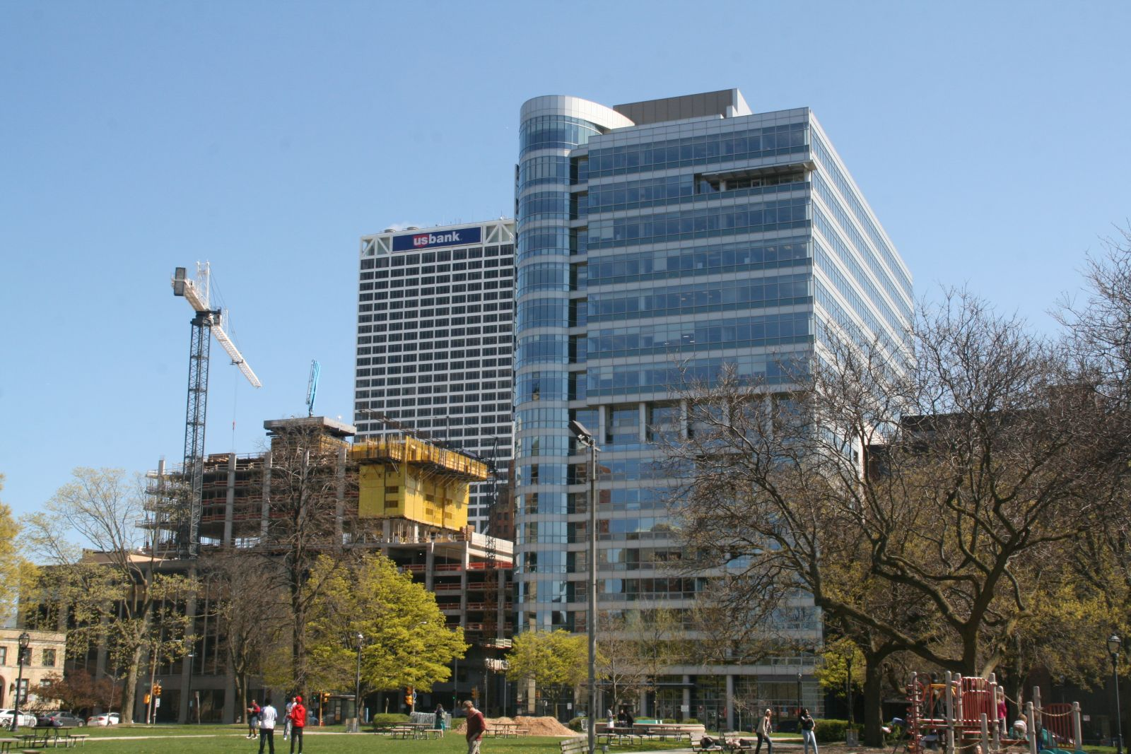 New NM Tower From Cathedral Square