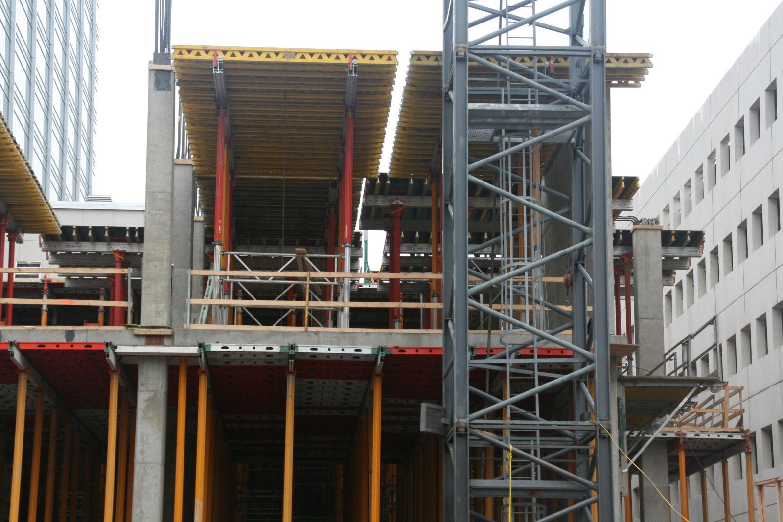 Westin Milwaukee Construction