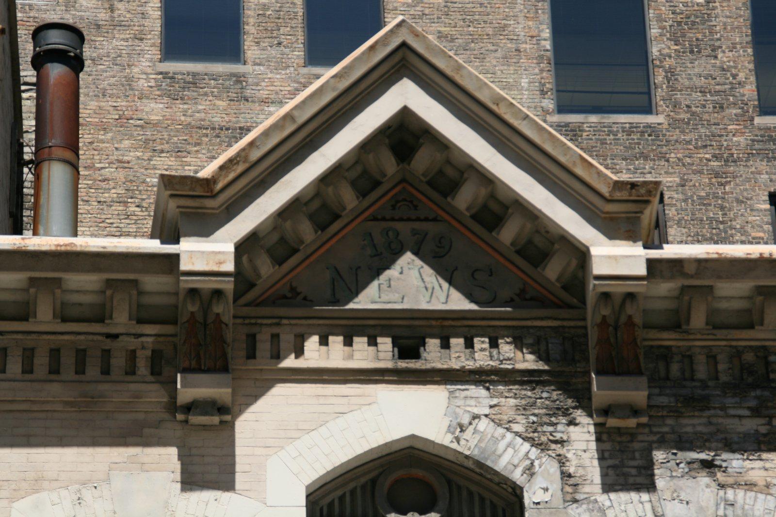 Milwaukee News Building Cornice
