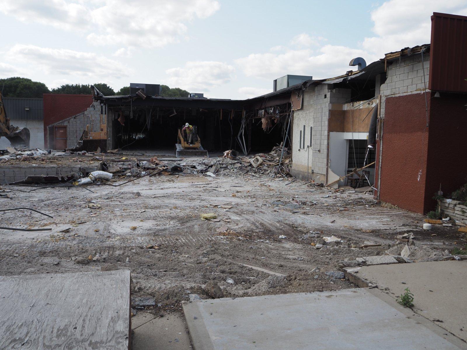 1237 N. Van Buren St. Demolition
