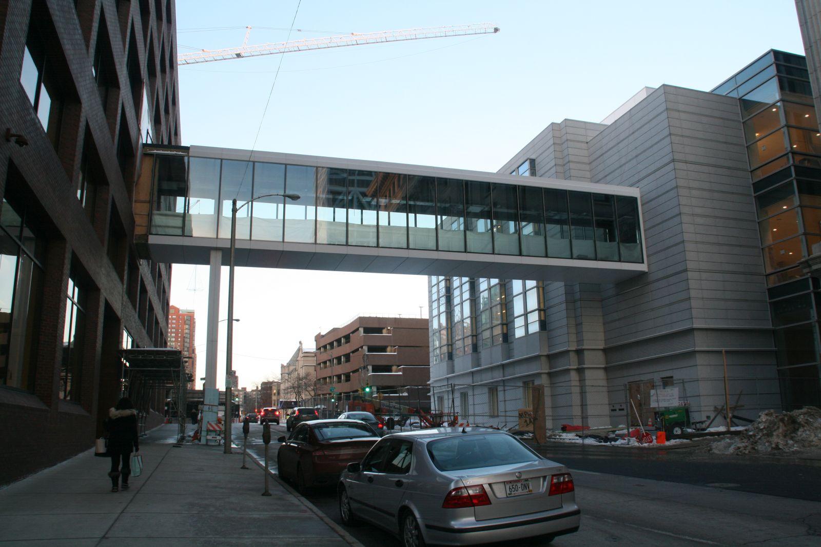 N. Van Buren St. Skywalk