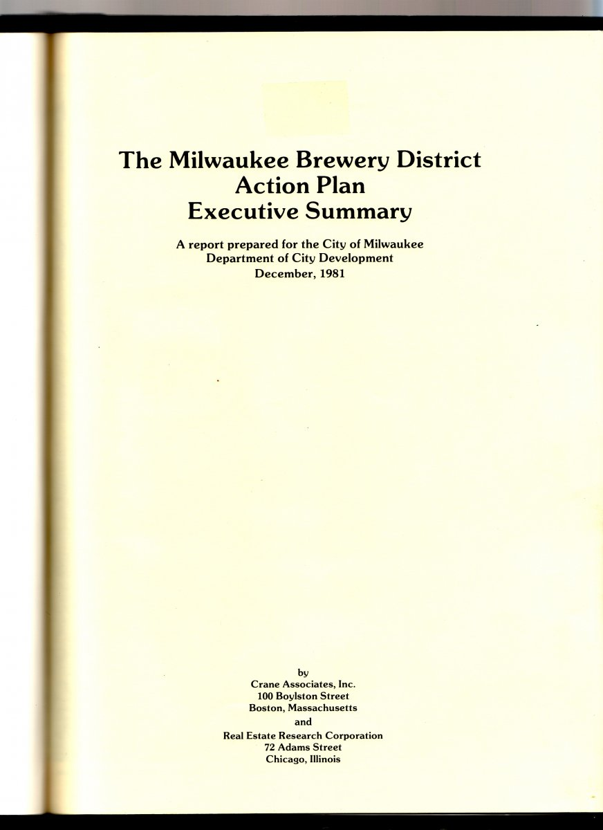 Brewery District Cover Sheet
