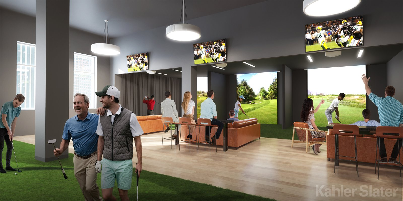 Golf Simulator at the MAC