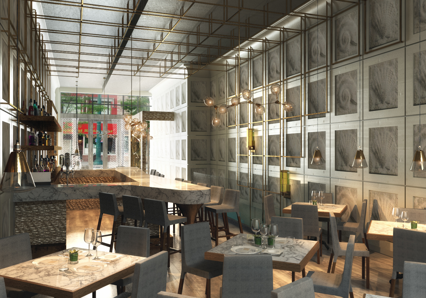 Rendering Of First Floor Third Coast Provisions