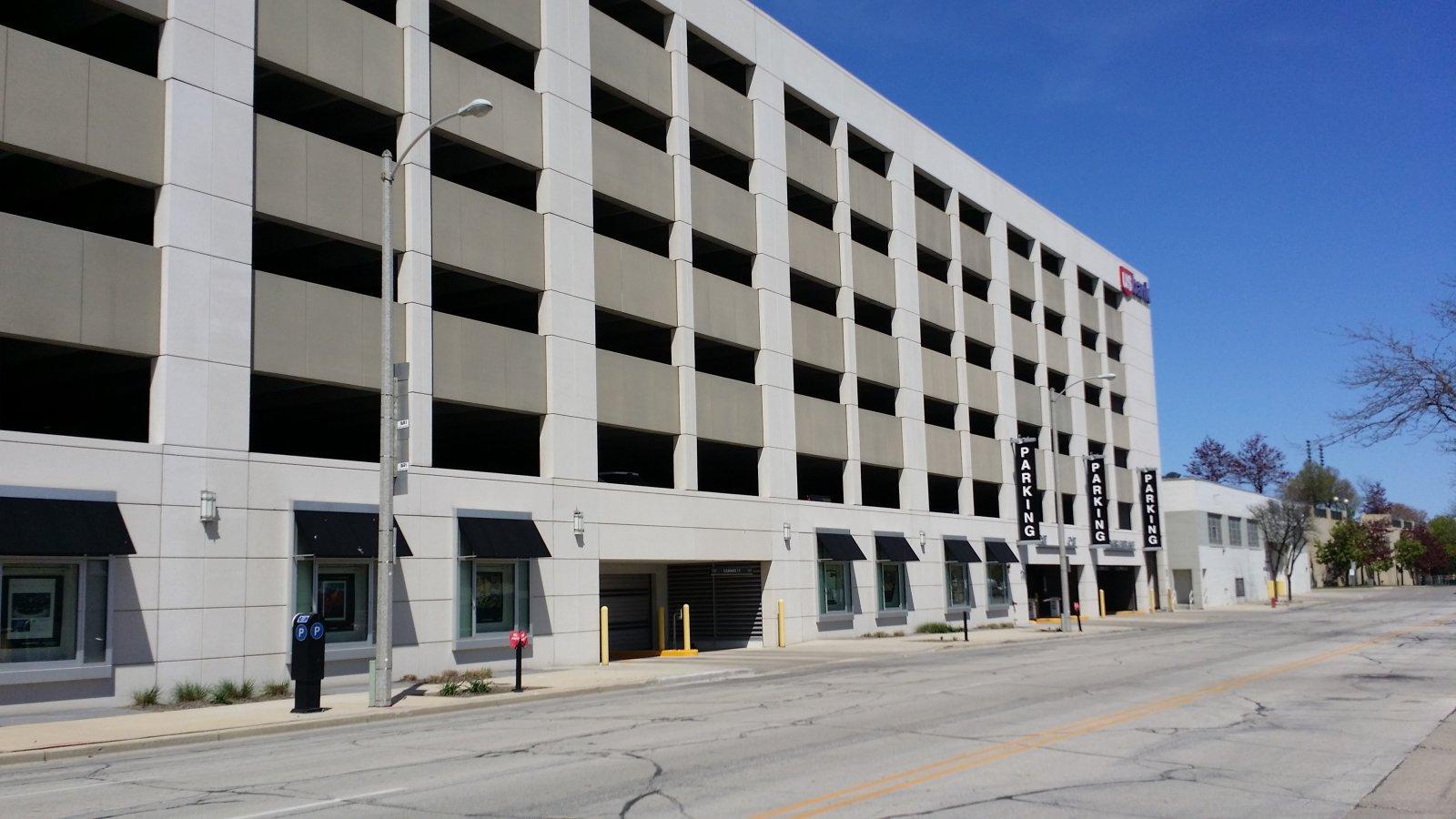US Bank parking garage