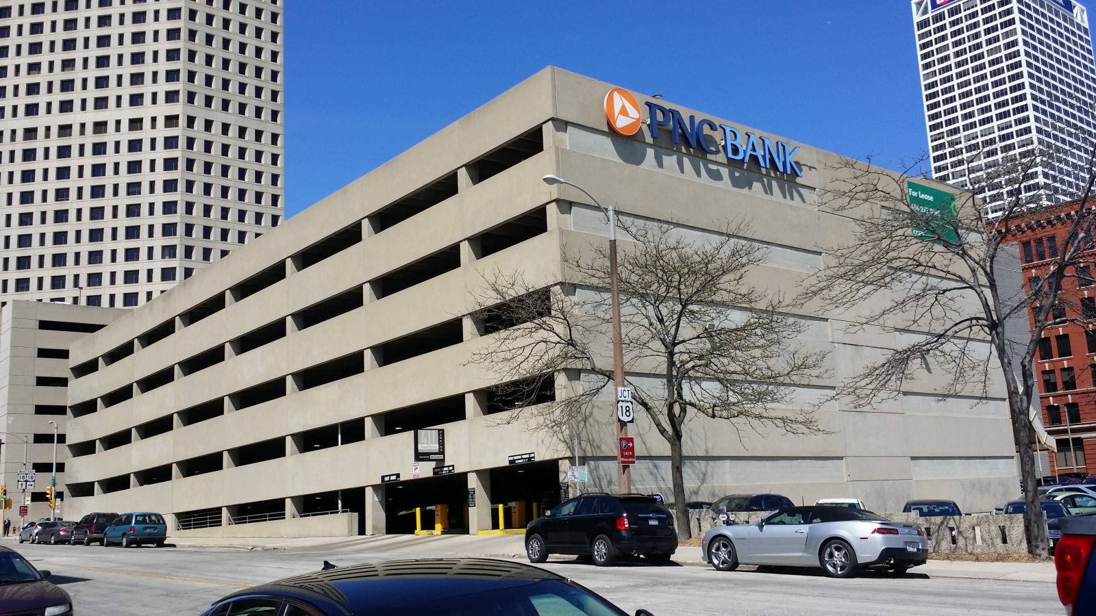 411 Building parking garage