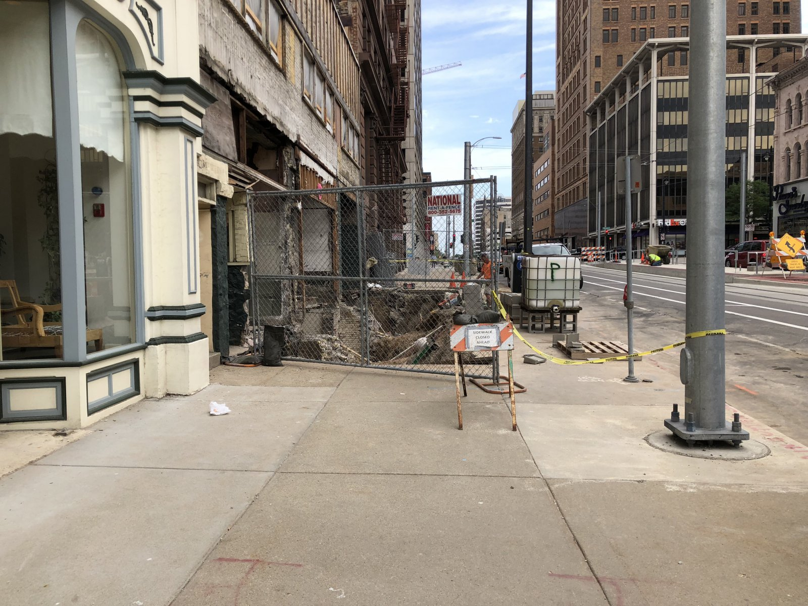 627-637 N. Broadway Construction