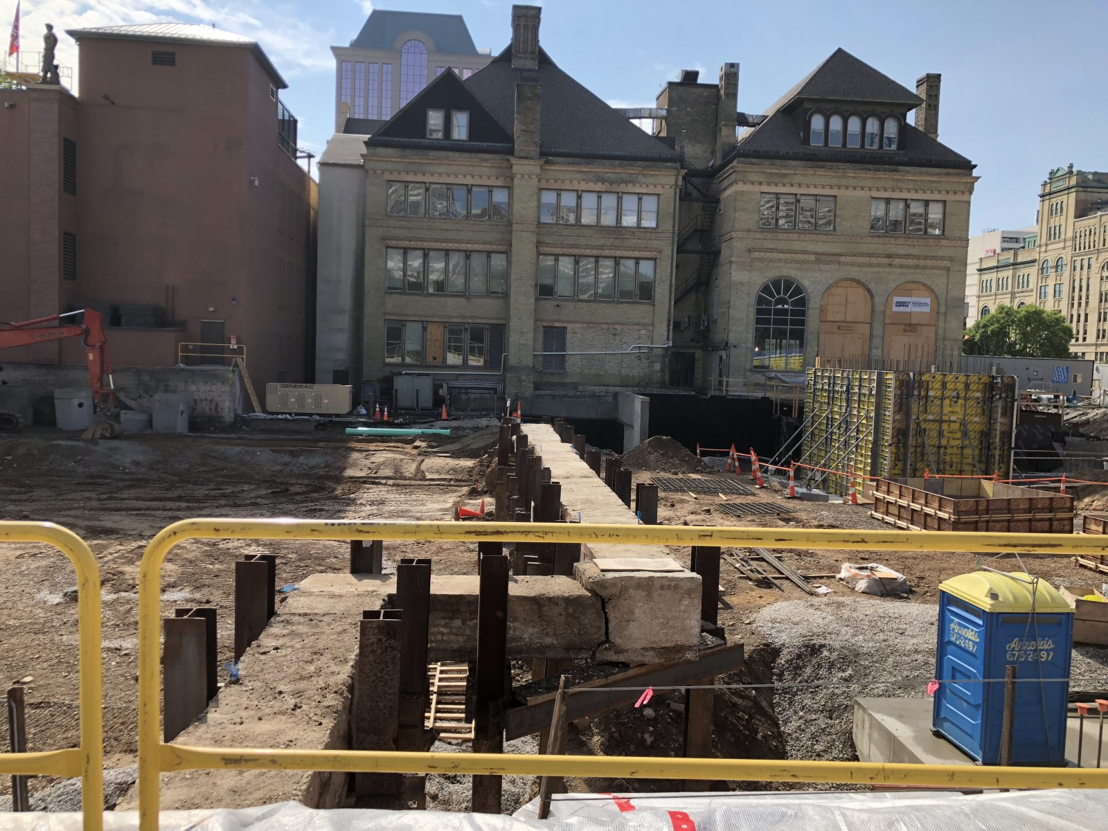 MSOE Construction - Steam Pipe