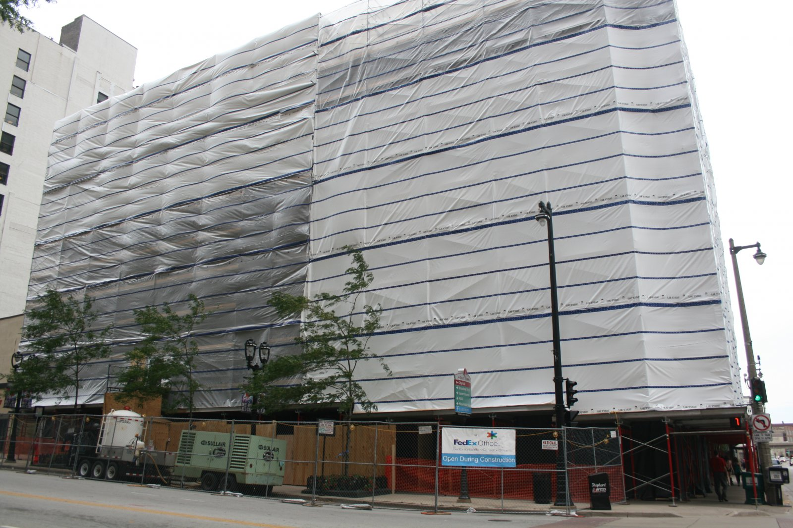 Iron Block Building Restoration