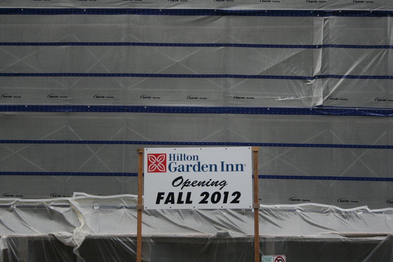 Hilton Garden Inn - Fall 2012