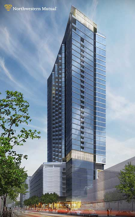 Friday Photos Northwestern Mutual S Second Downtown Tower