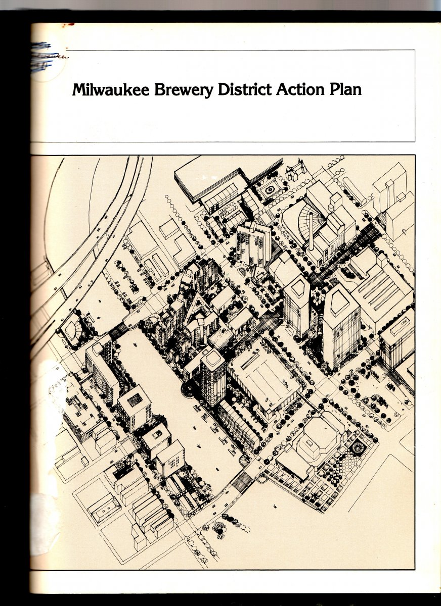 Cover - Milwaukee Brewery District Action Plan