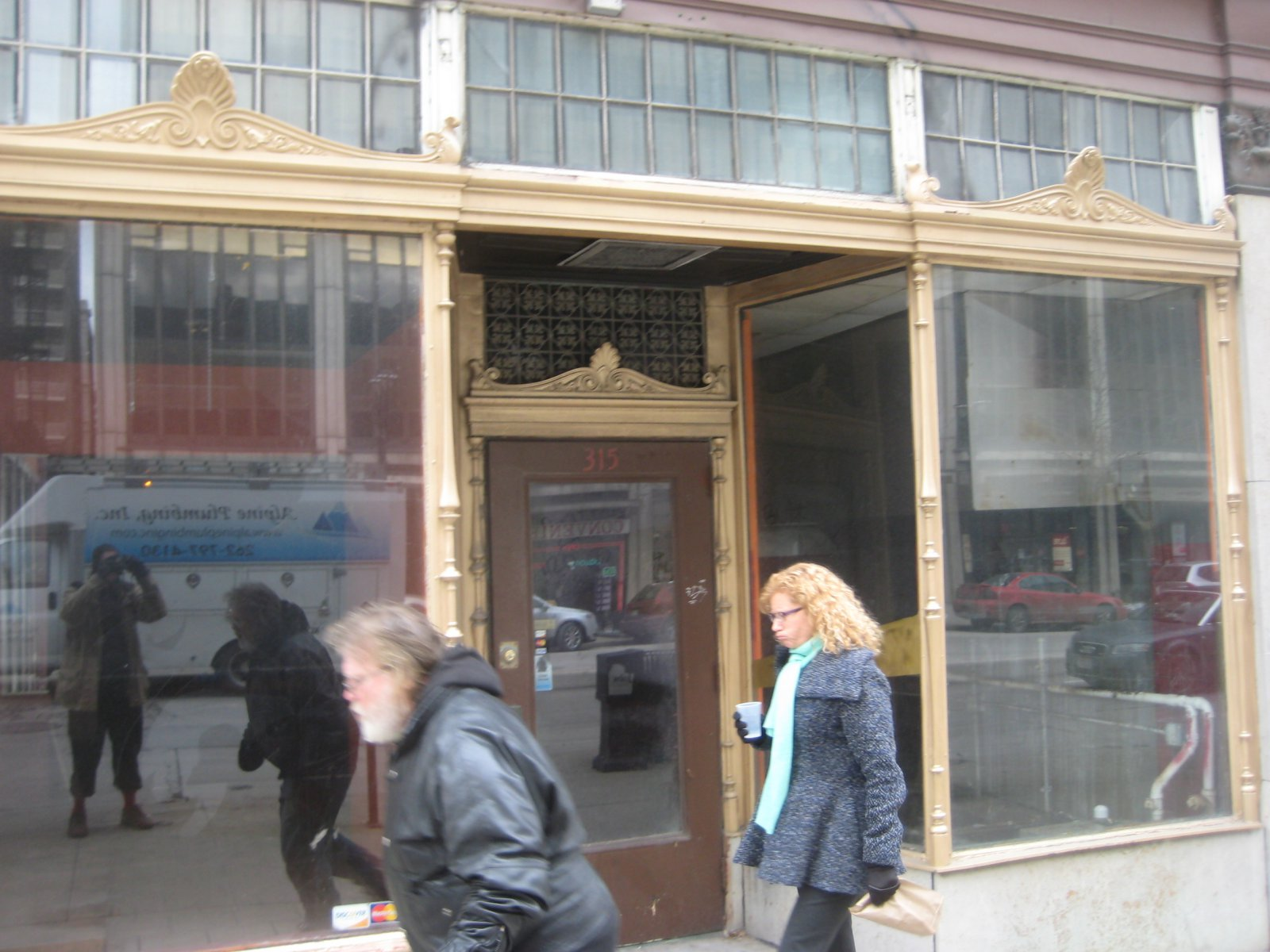 The new home of Amilinda restaurant on E. Wisconsin Ave