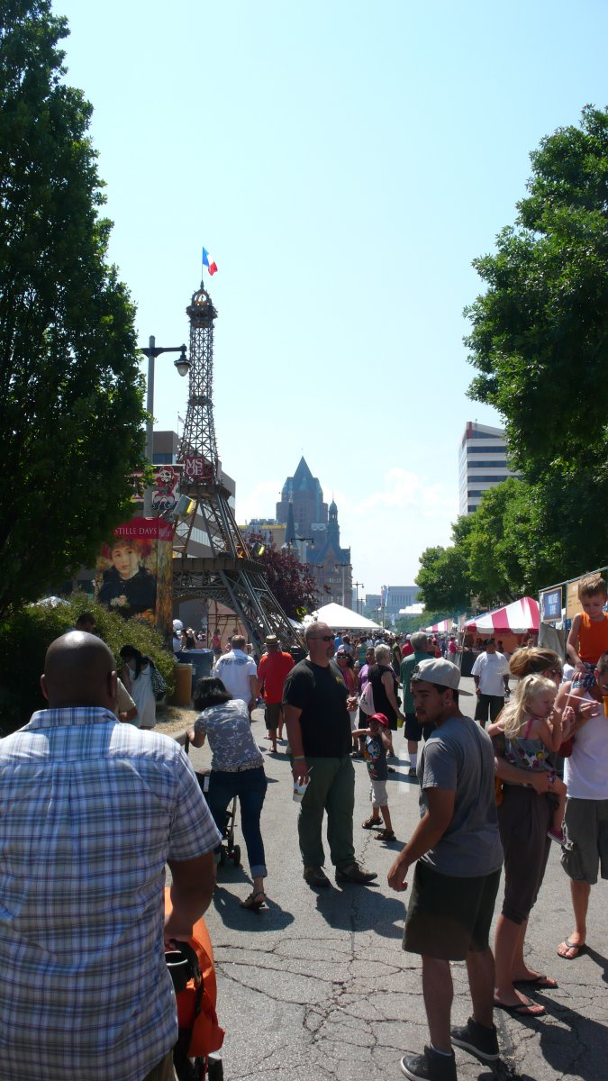 Kilbourn during Bastille Days