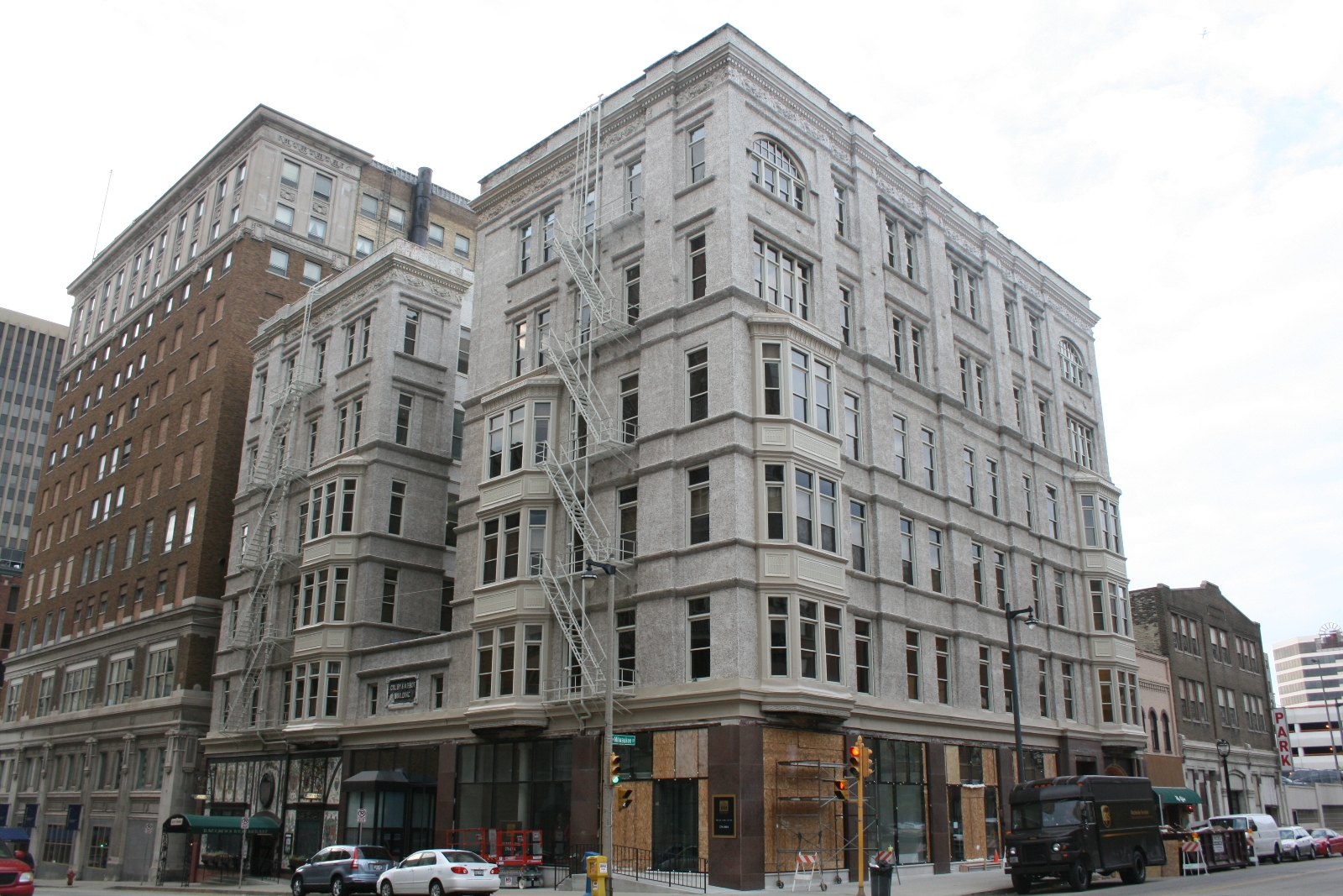 Colby Abbot Building Restoration