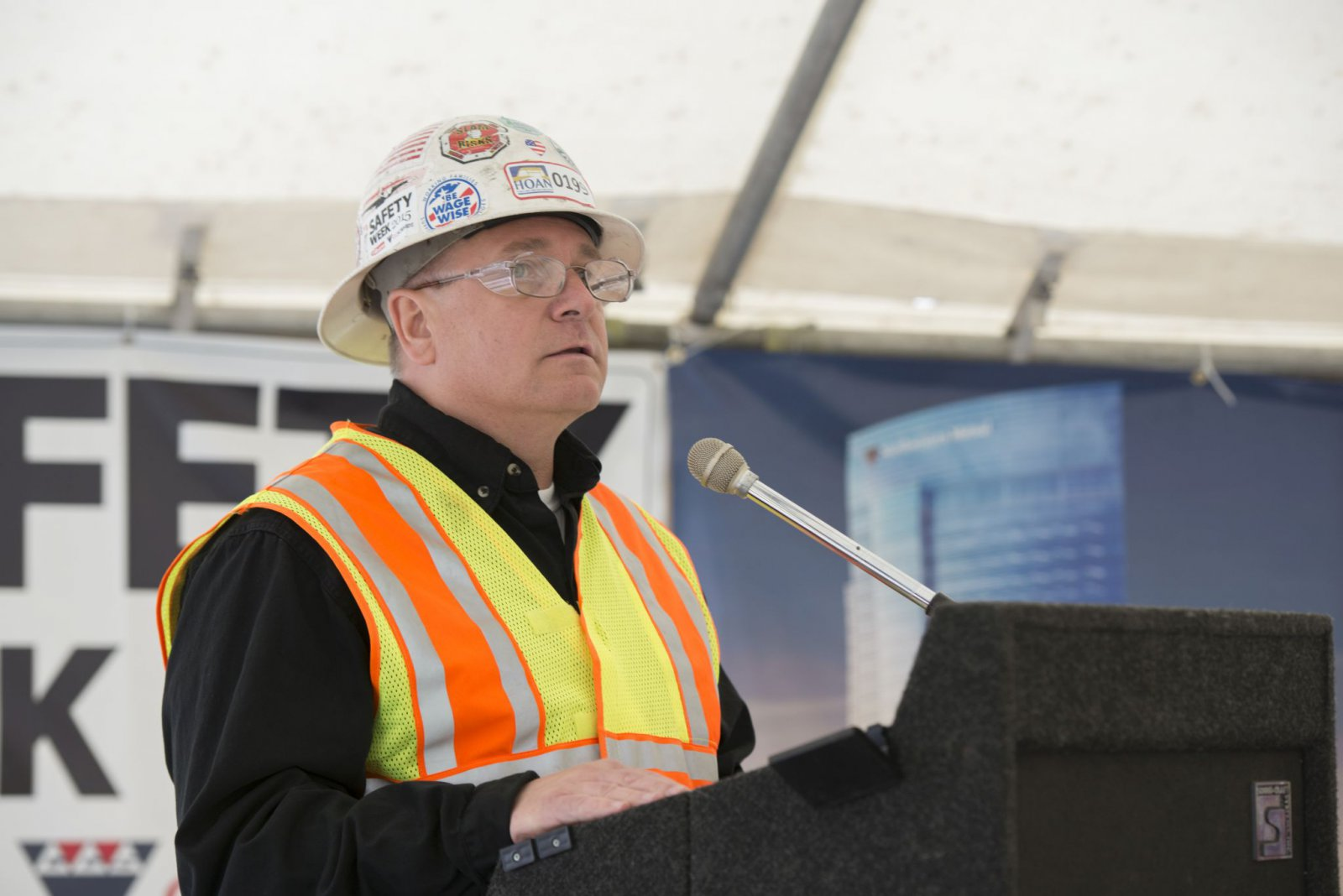 Dan Bukiewicz, president of the Milwaukee Building and Construction Trades Council.