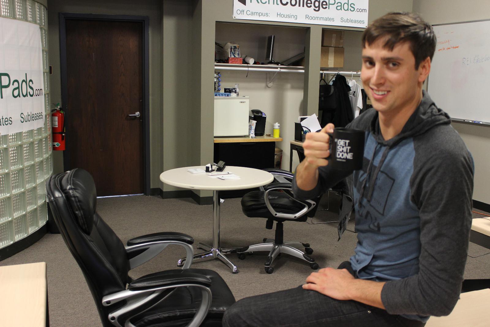 Dominic Anzalone of RentCollegePads