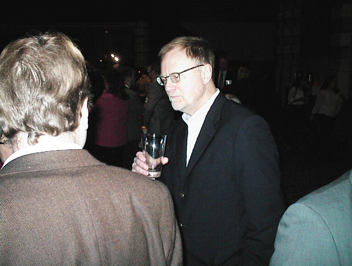 Urban Milwaukee Editor Bruce Murphy enjoying the party.
