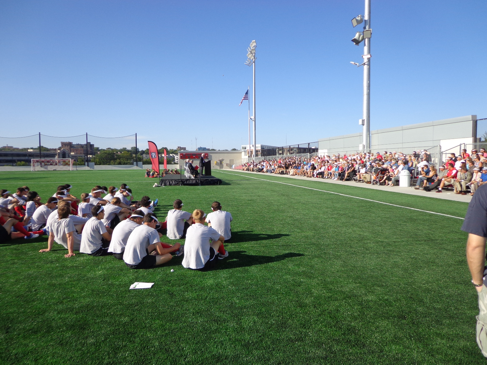 MSOE Athletic Field and Parking Complex Unveiling