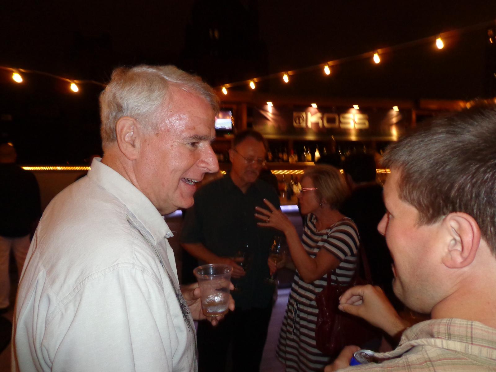 Mayor Tom Barrett and Jeramey Jannene.