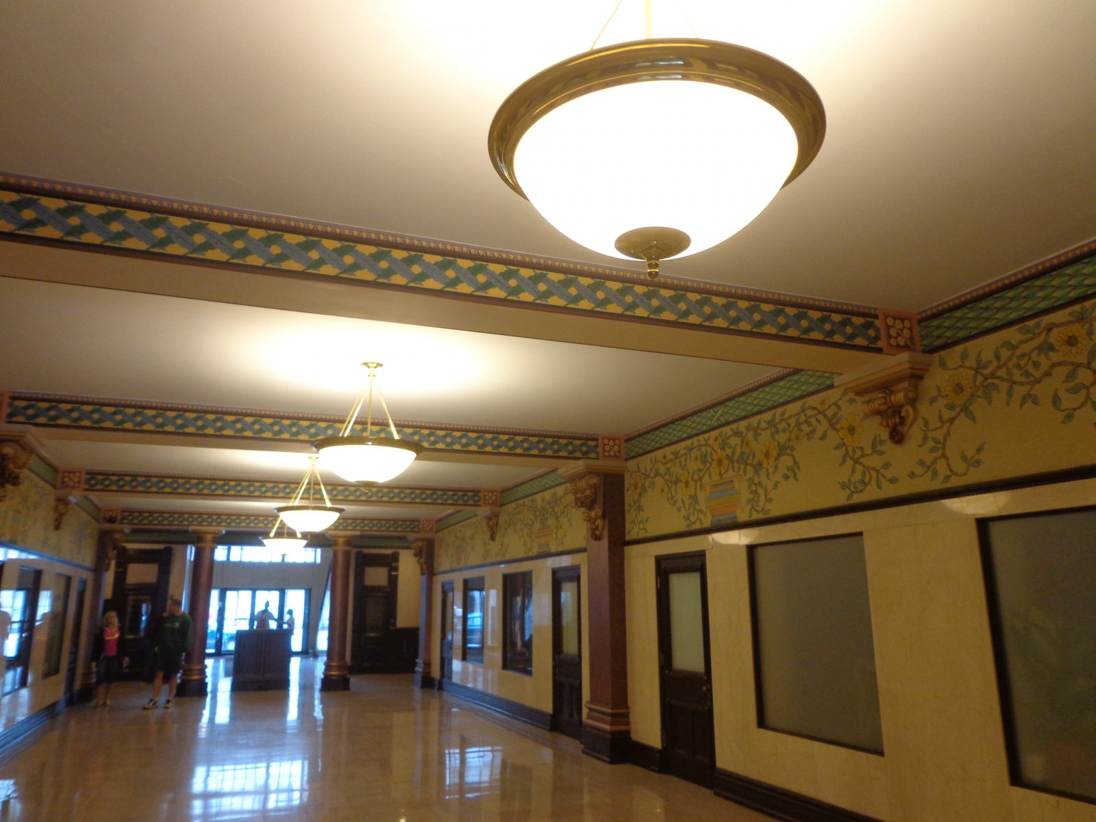 Hallway in the Mackie Building.