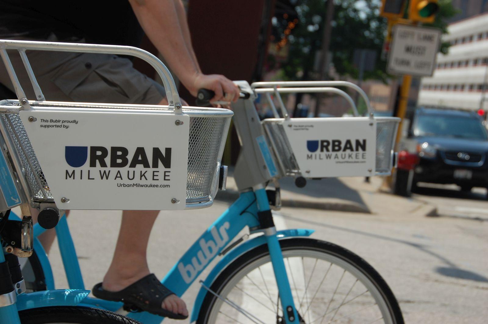 Urban Milwaukee Bublr Bike