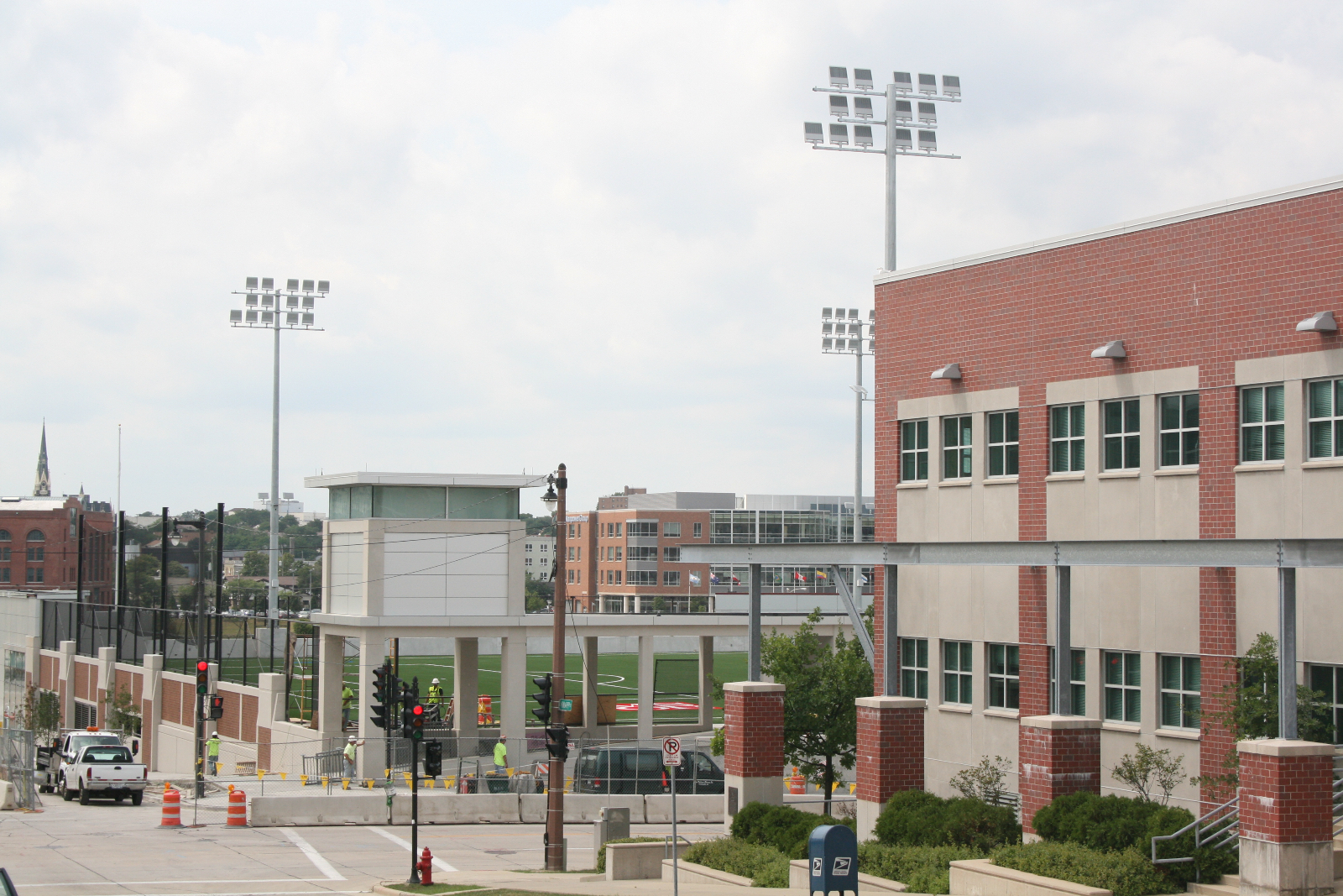 MSOE Athletic Field and Parking Complex.