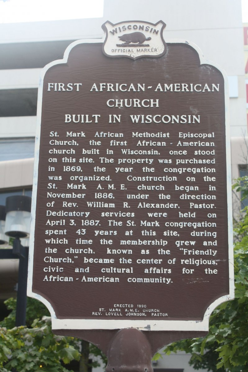 First African American church built in Wisconsin