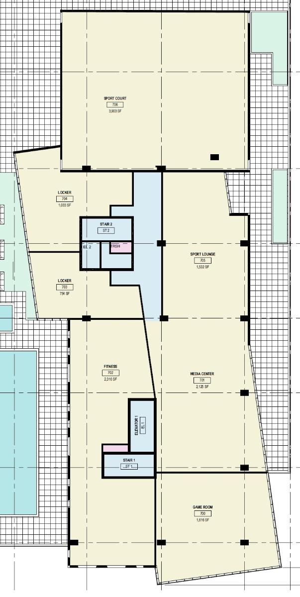 Common Area Floor Plan