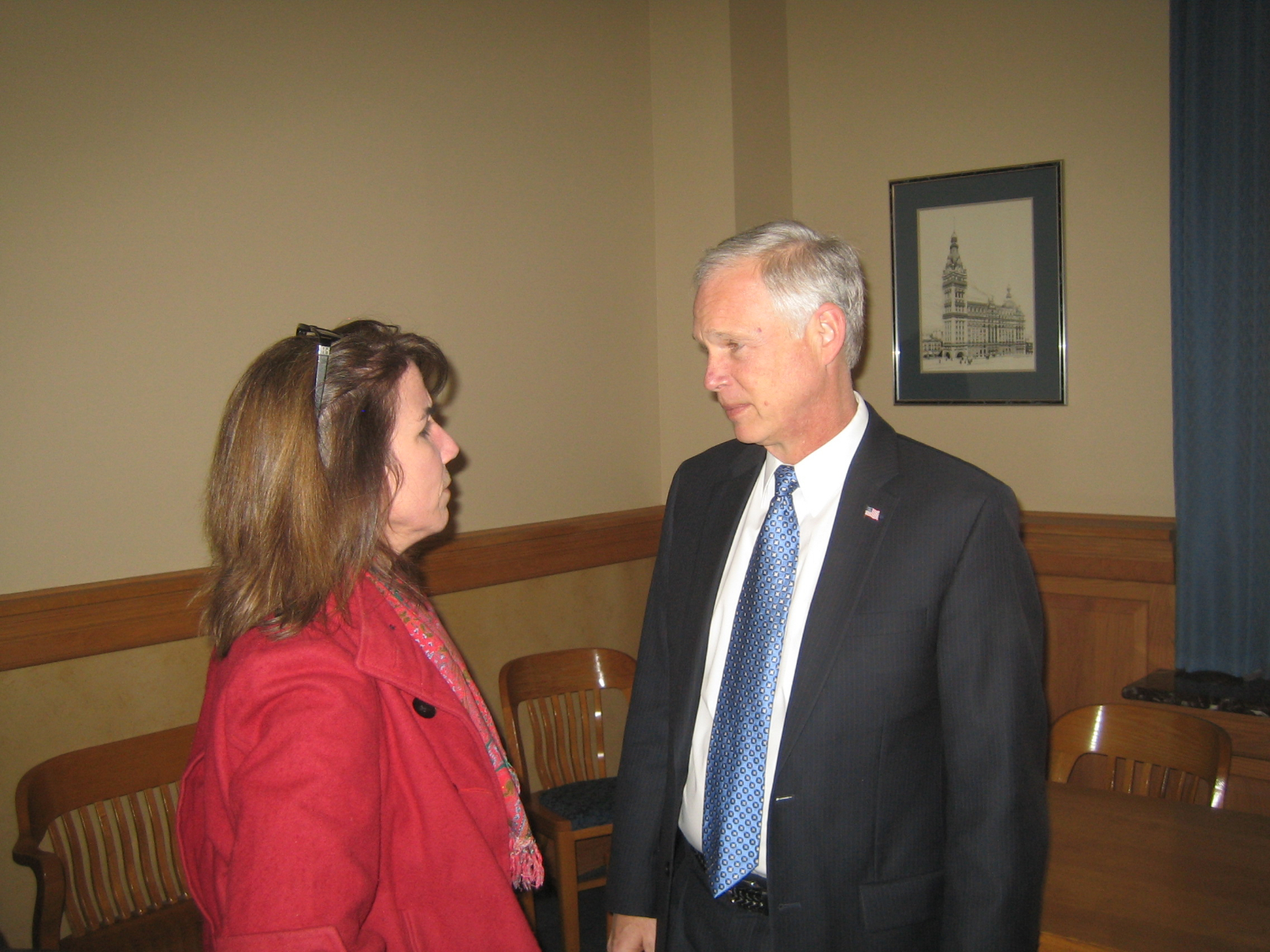 Senator Ron Johnson.