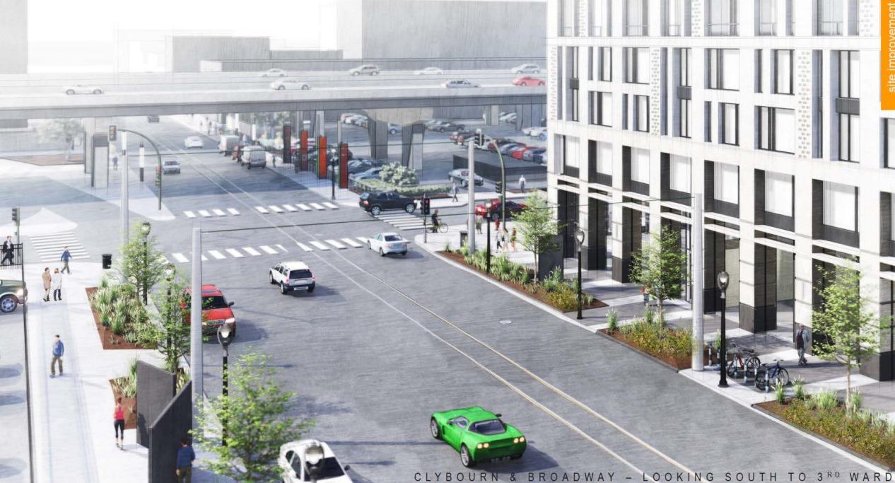 N. Broadway Site Plan
