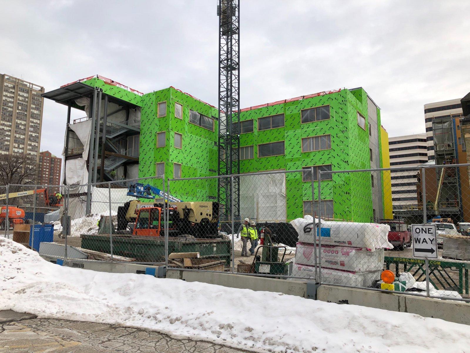 Diercks Hall Construction