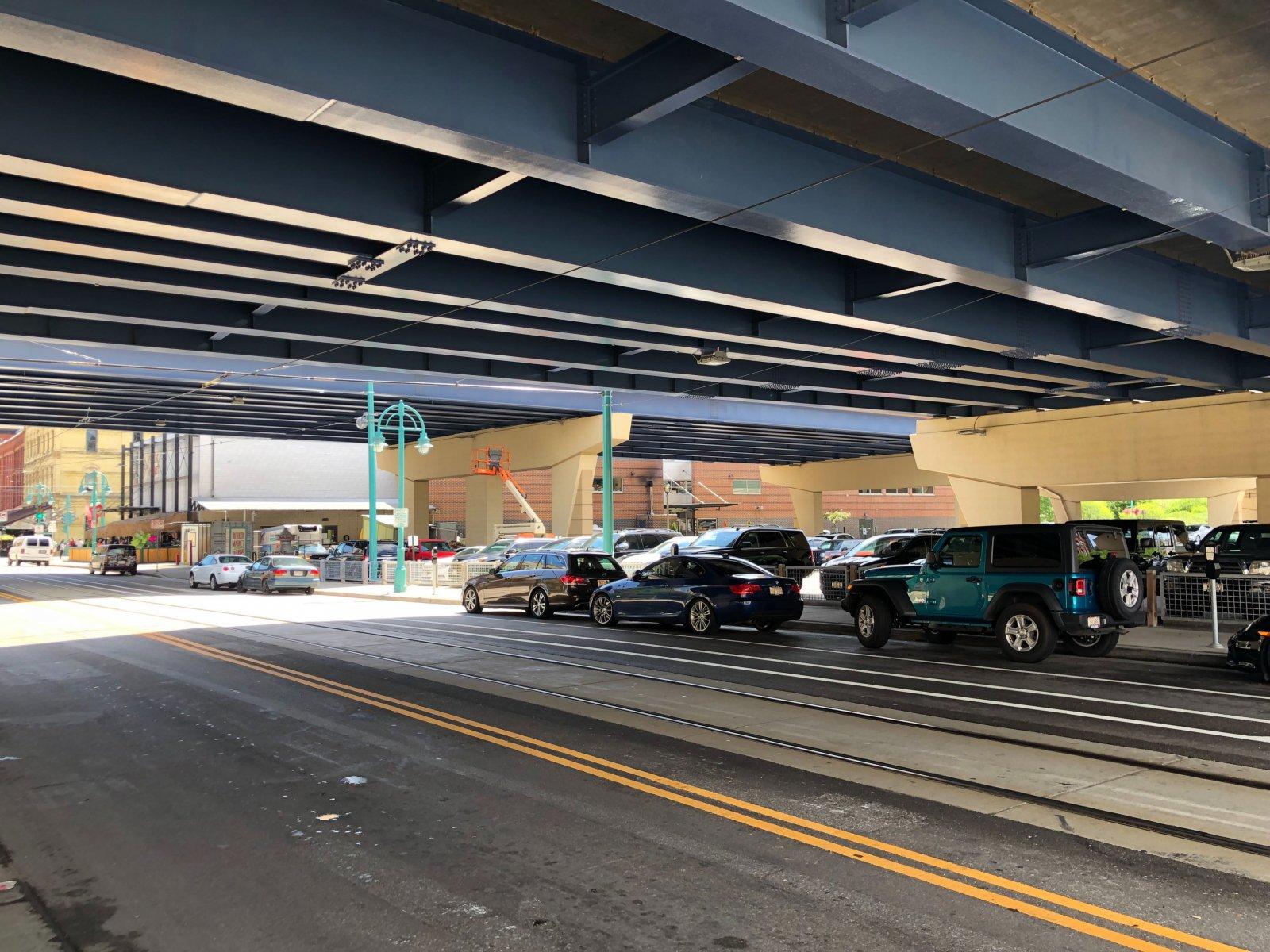 Broadway Under Interstate 794