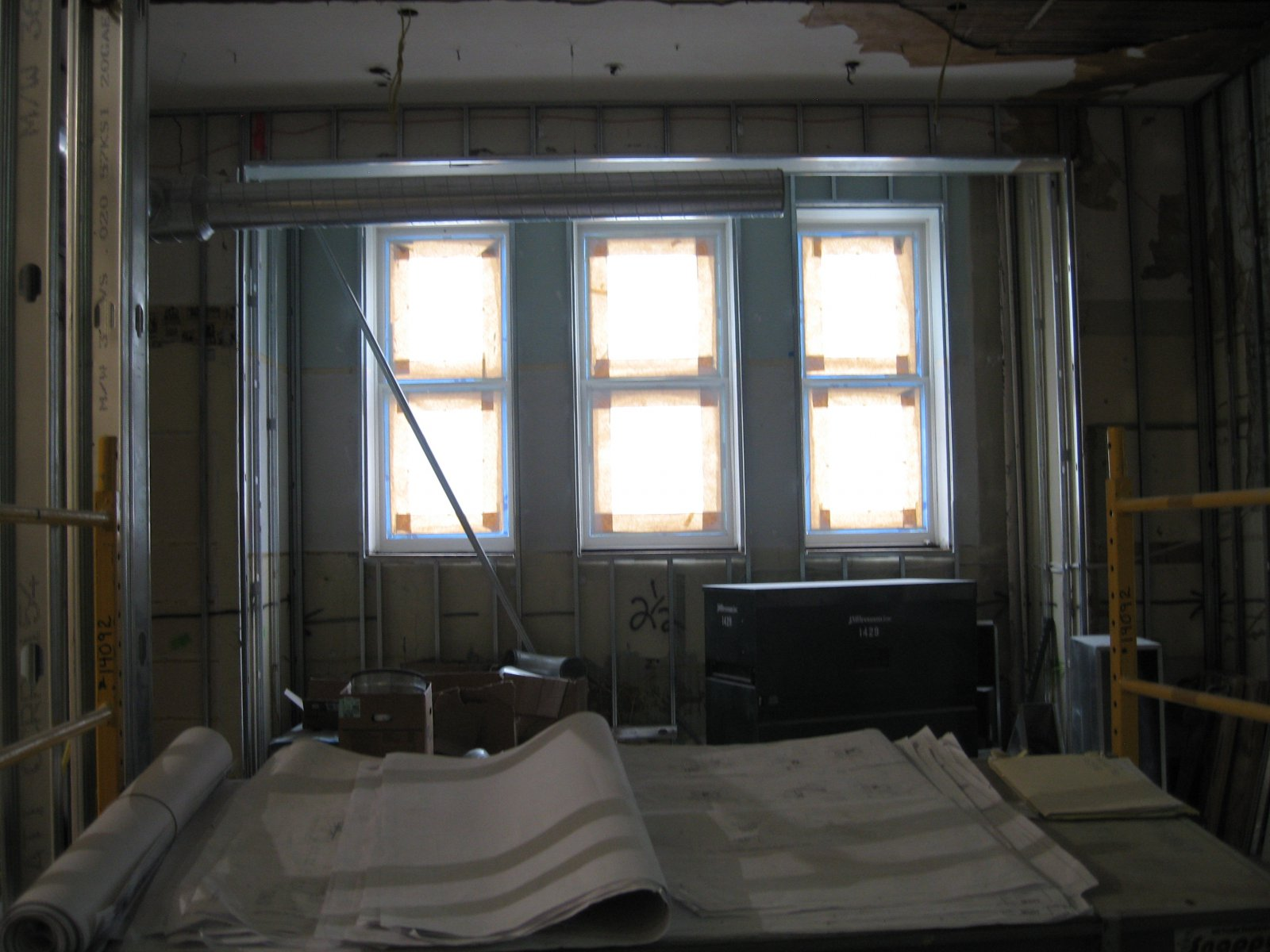 Inside the Mackie Building renovation