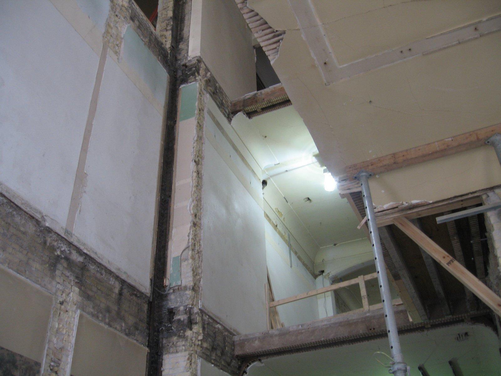 Inside the Mackie Building renovation