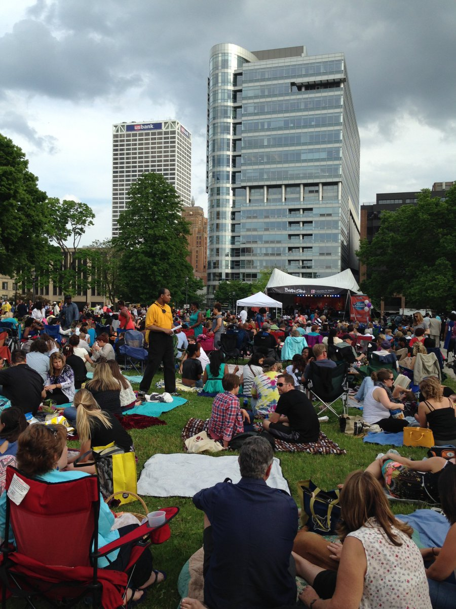 Opening night of Jazz in the Park 2015