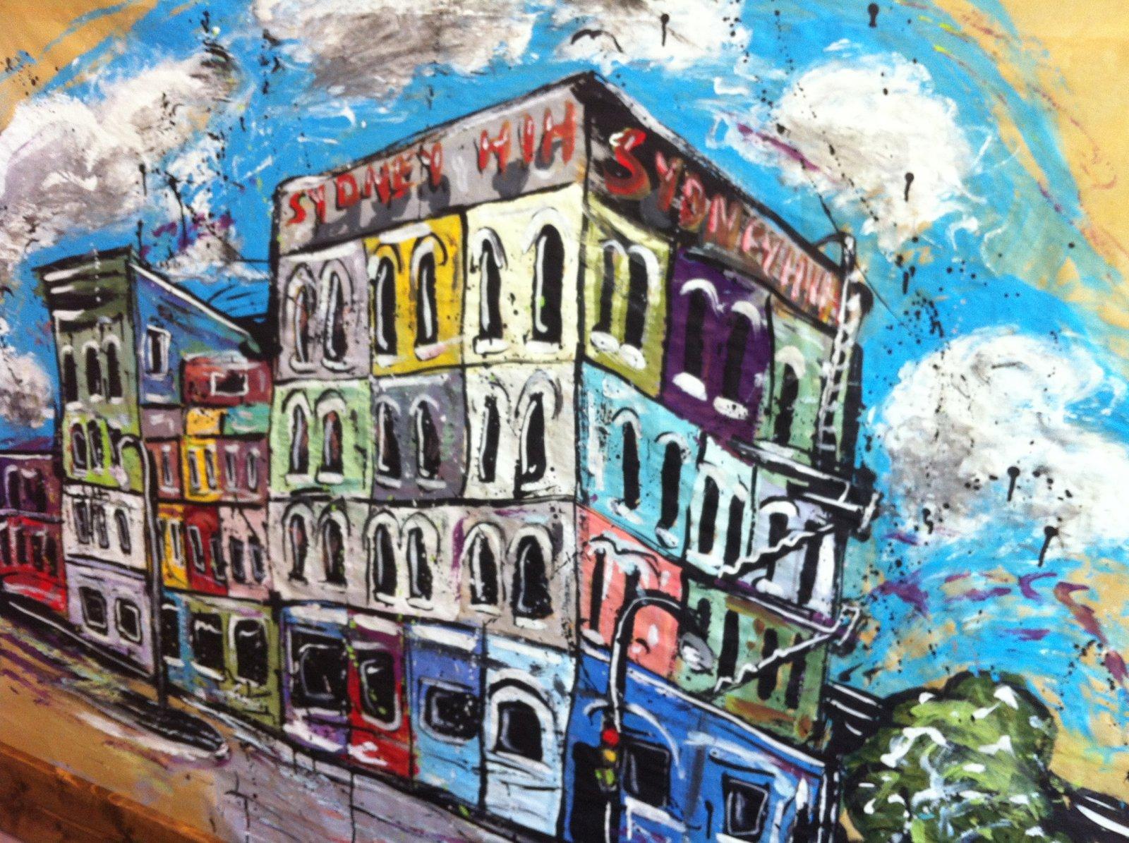 Sydney Hih Painting