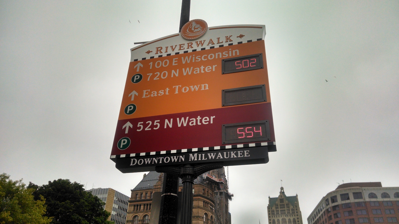 Mayor Tom Barrett and the Department of Public Works Announce New Advanced Parking Guidance System in Downtown Milwaukee