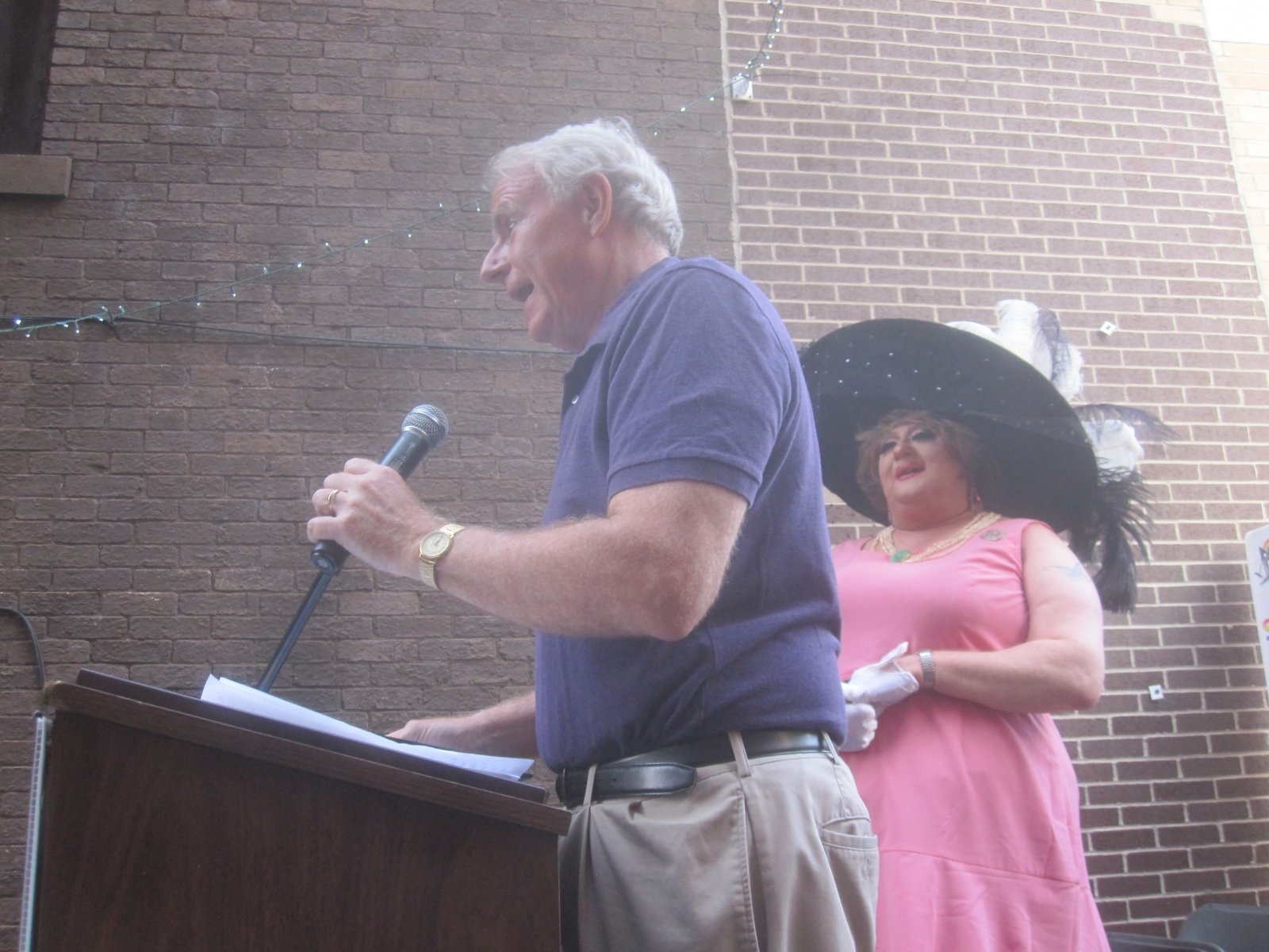 Mayor Tom Barrett and Karen Valentine