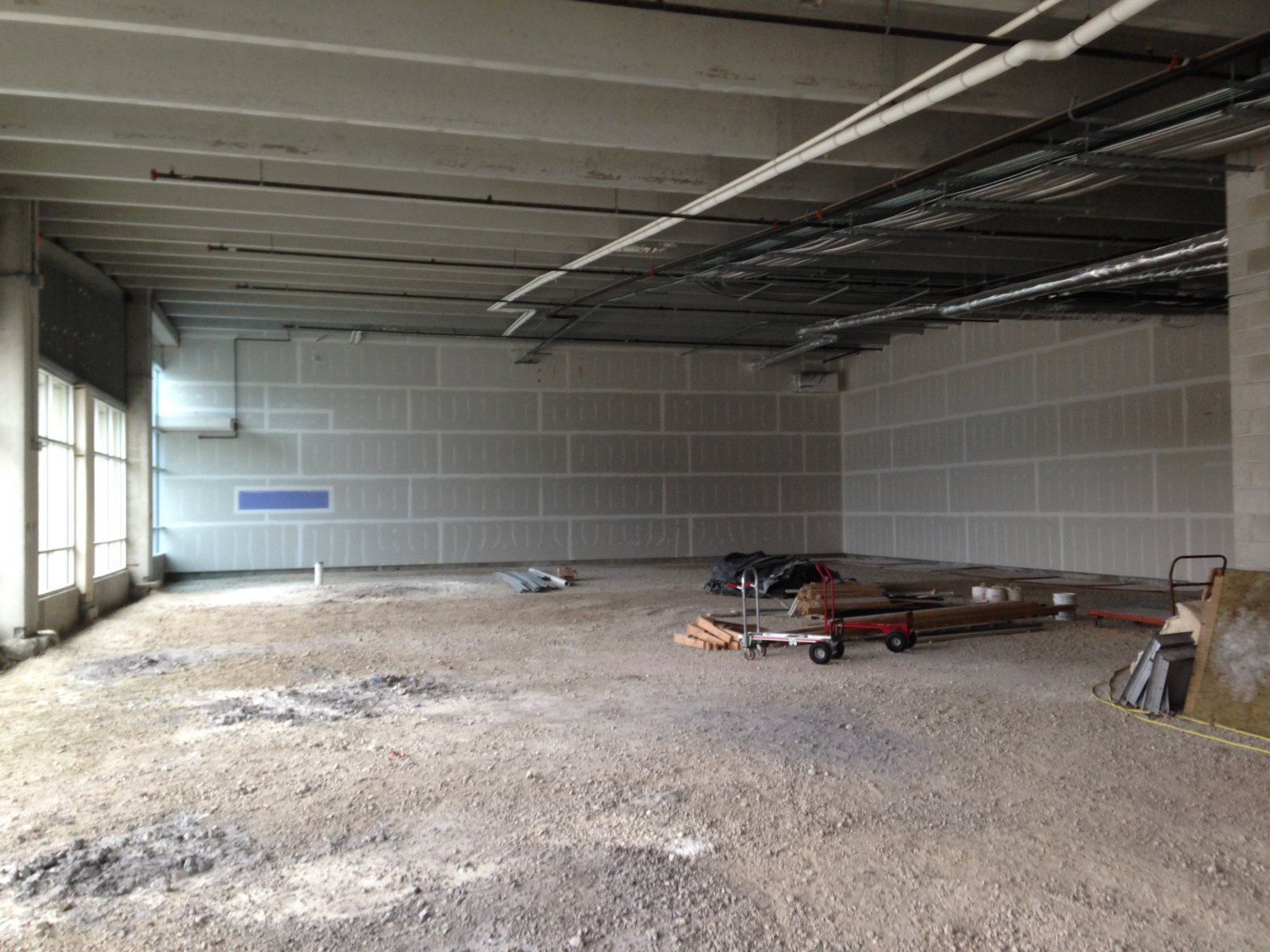 Pizano\'s new space.
