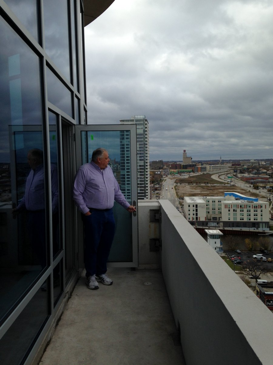 Rick Gagliano, Tower Building Manager.