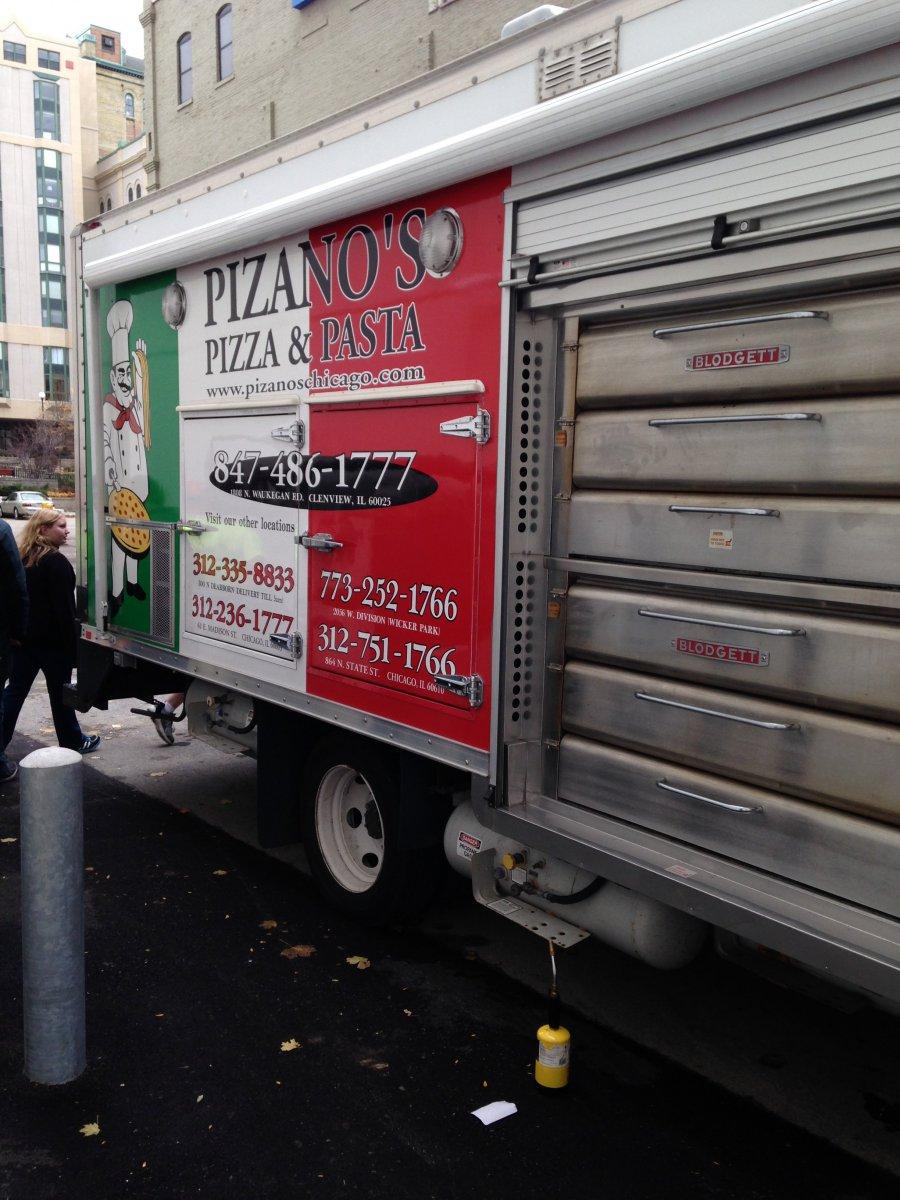 Pizano\'s Pizza & Pasta.