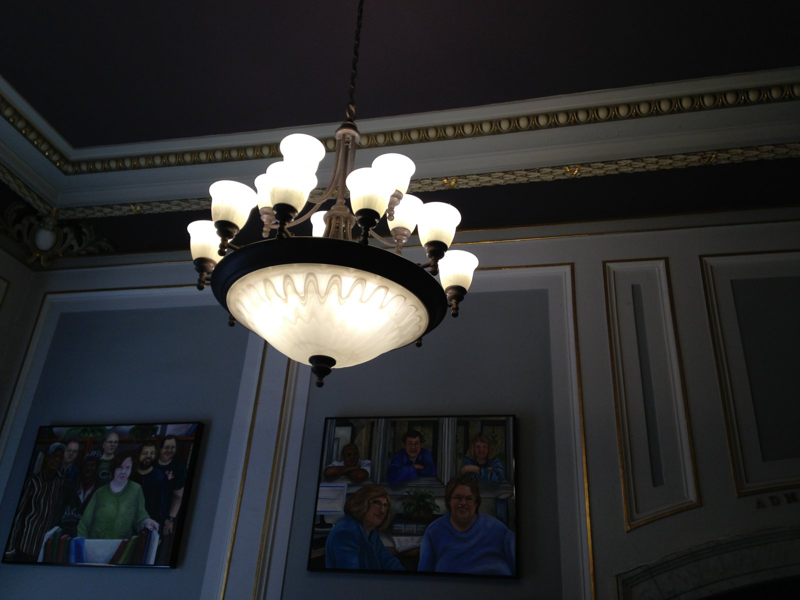 Inside the Bank of Milwaukee Building