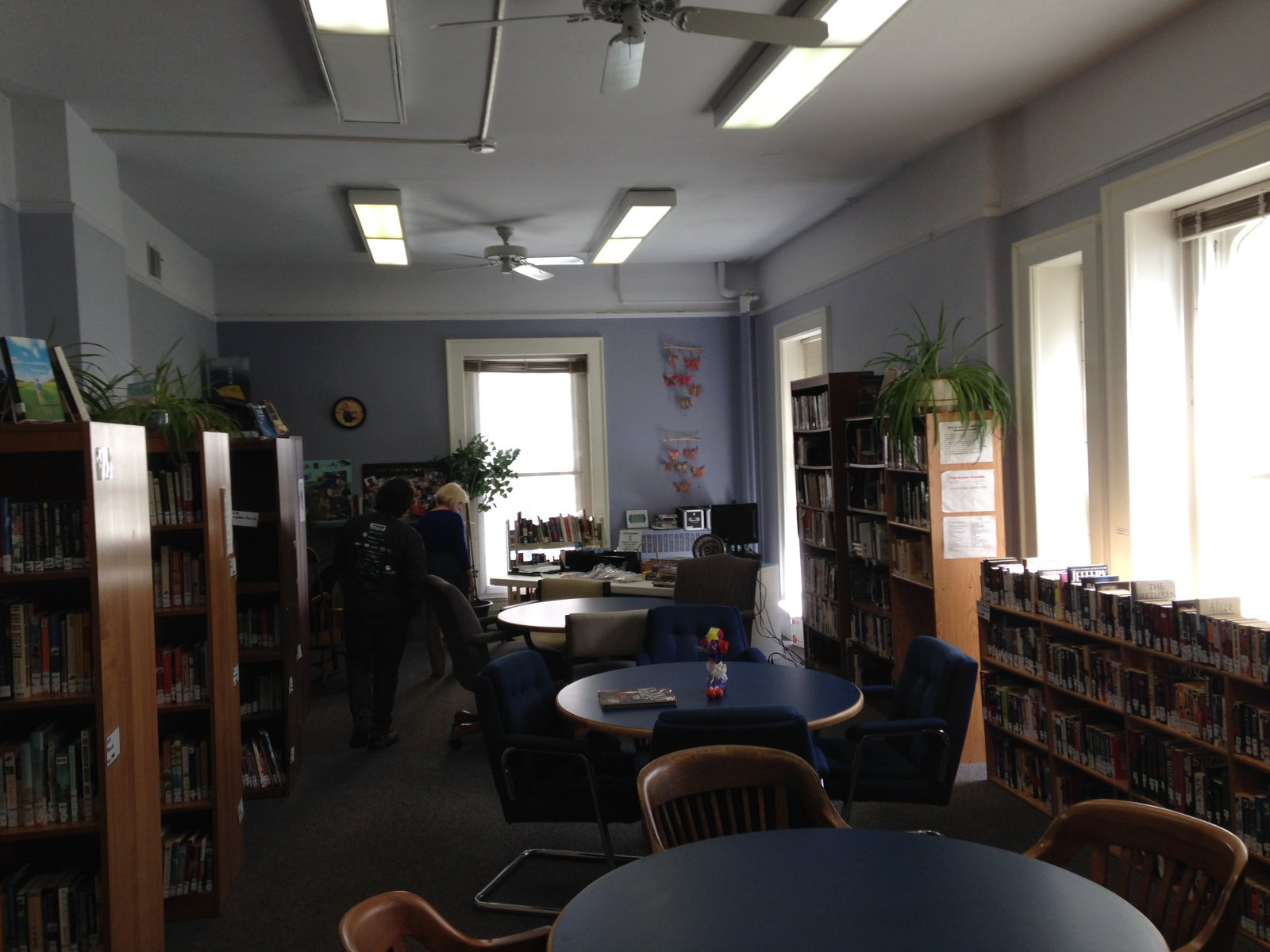 Inside the Grand Avenue Club