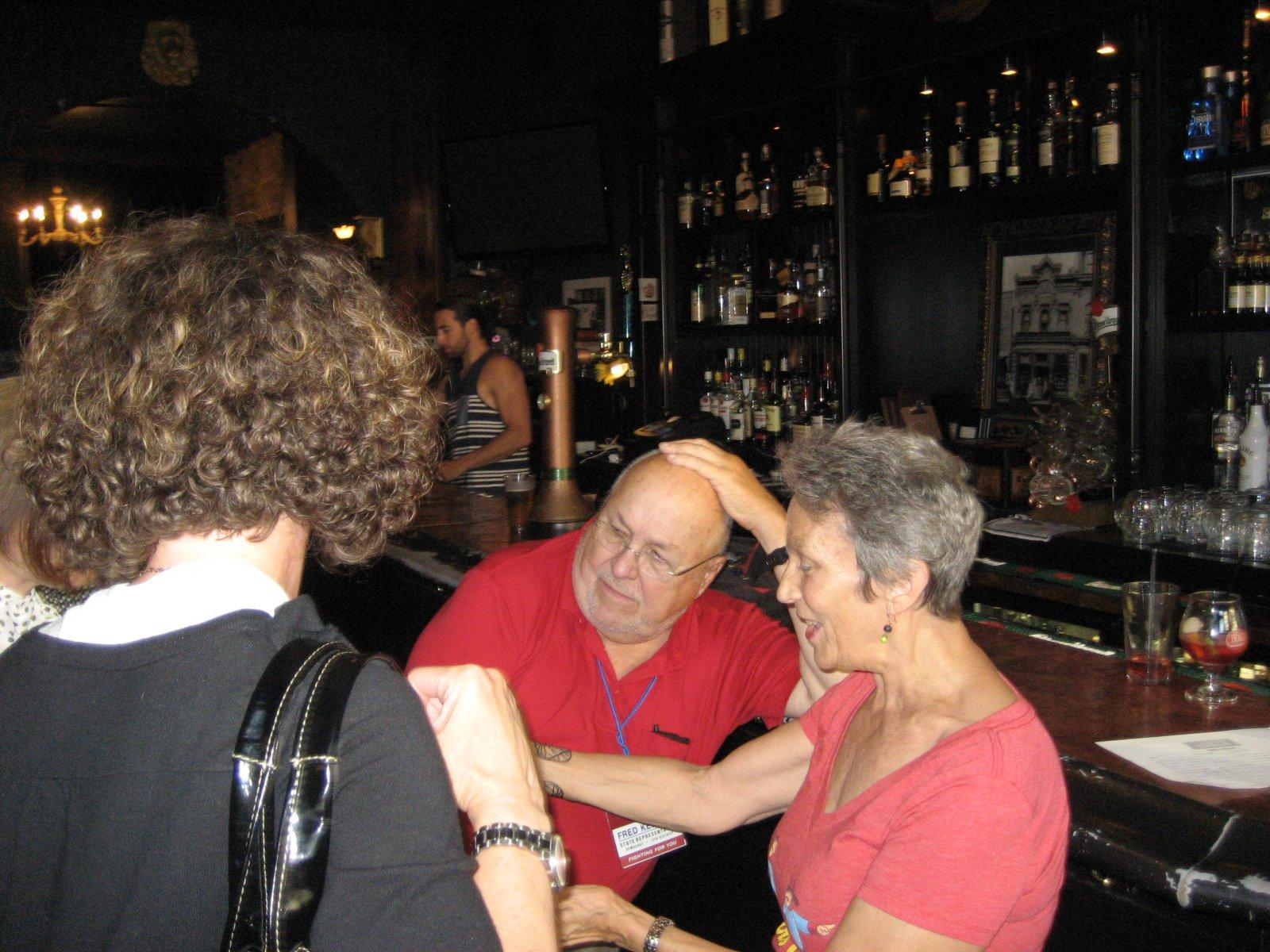 Fred Kessler and Julilly Kohler