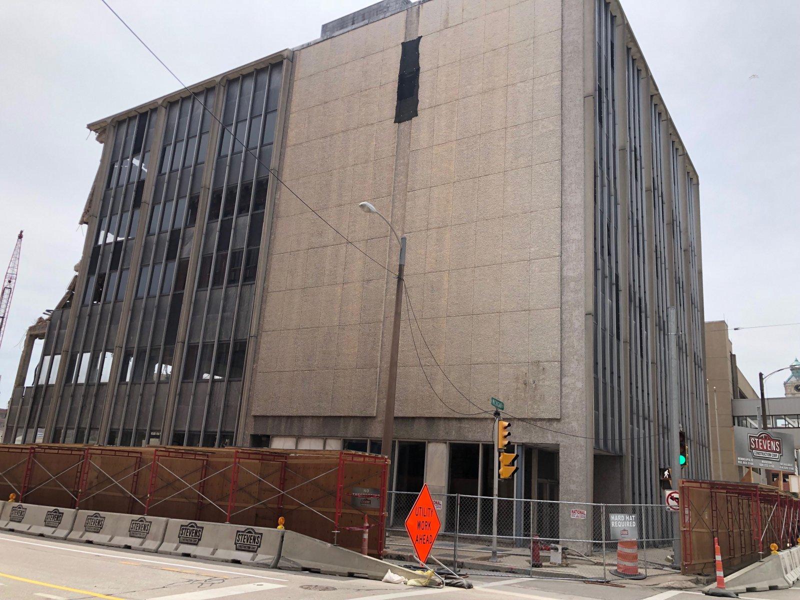 433 E. Michigan St. Demolition