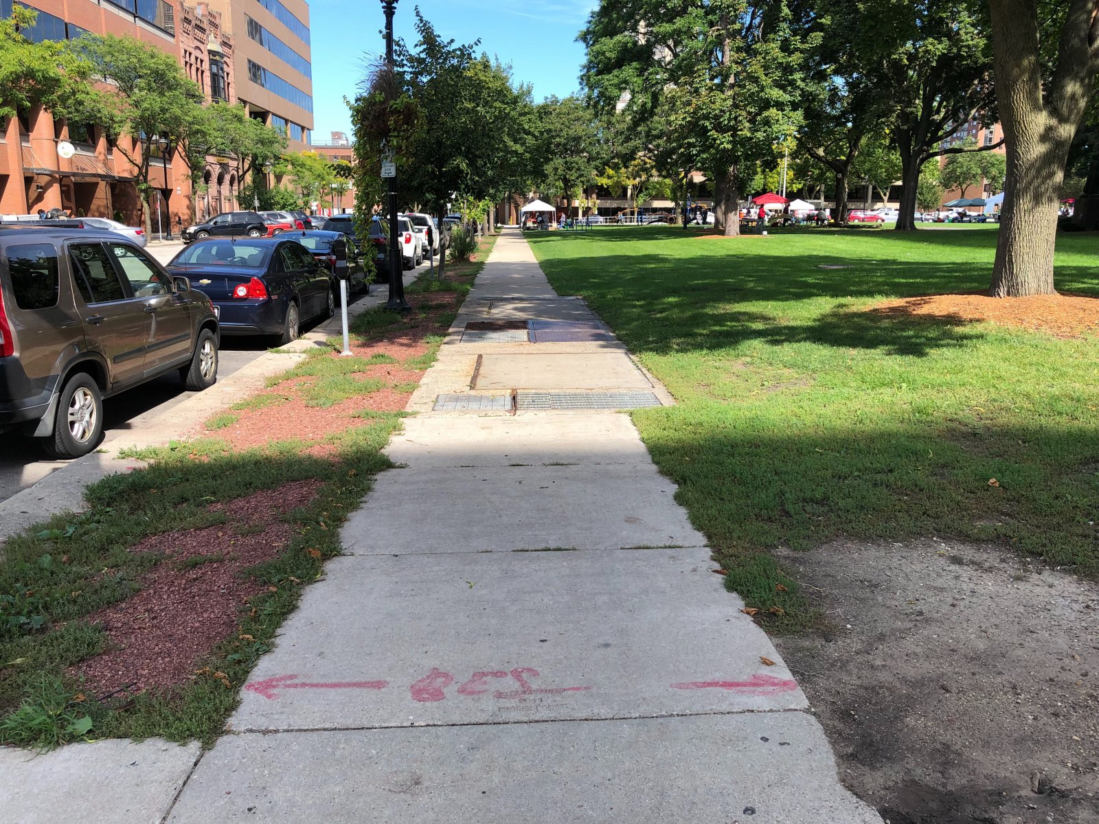 Cathedral Square Sidewalk